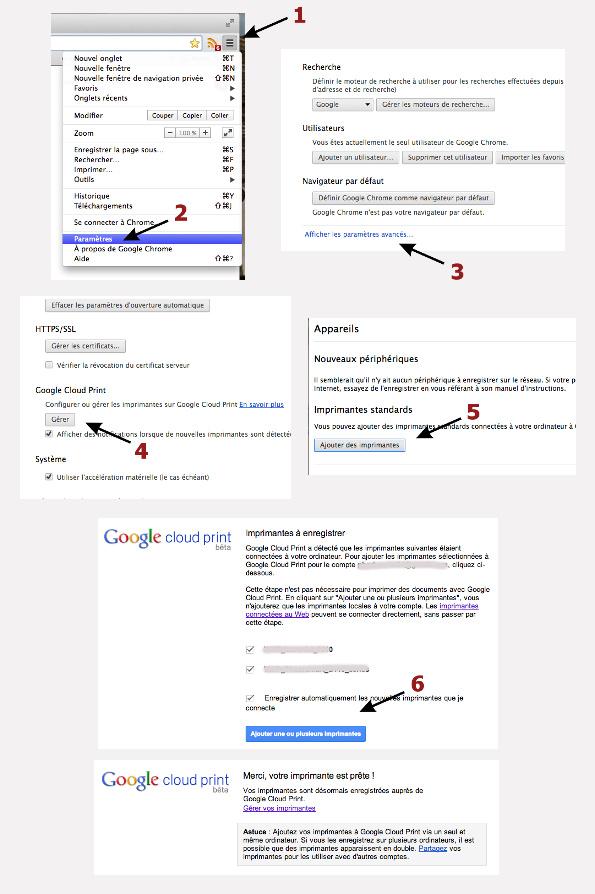 Tuto Imprimer sous Android : parametrer une imprimante locale