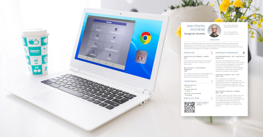 appli giga-cv sur chromebook